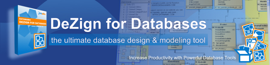 database software for MS SQL, Oracle, MySQL, PostgreSQL and MS Access