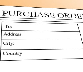buy software using purchase orders